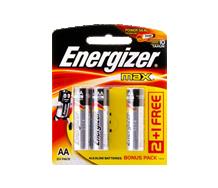 =ENERGIZER Alkaline - MAX E91 AA BP2+1 Max 3pcs