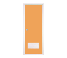 =POLYWOOD Pintu PVC - Cream + Kunci