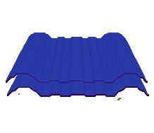 =Avantguard Atap 3 Layer Biru