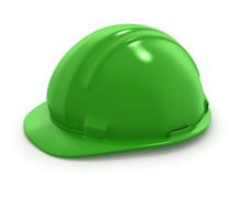 =Helm Proyek - Hijau