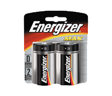 =ENERGIZER Alkaline - MAX E95 D BP2 Max 2pcs