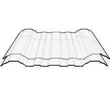 =Avantguard Atap 1 Layer Clear White