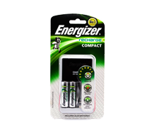 =ENERGIZER Charger - CHCC w/2 Batteries AA 2300mAh